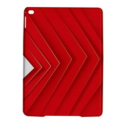Rank Red White iPad Air 2 Hardshell Cases