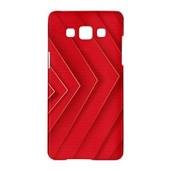 Rank Red White Samsung Galaxy A5 Hardshell Case