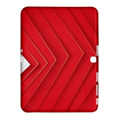 Rank Red White Samsung Galaxy Tab 4 (10.1 ) Hardshell Case