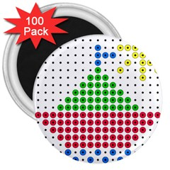 Ship 3  Magnets (100 pack)