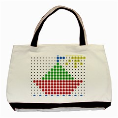 Ship Basic Tote Bag (Two Sides)