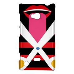Scissors Tongue Nokia Lumia 720