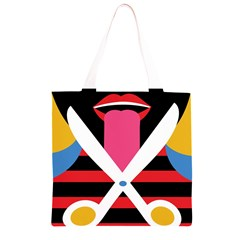 Scissors Tongue Grocery Light Tote Bag