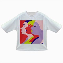 Three Beautiful Face Infant/Toddler T-Shirts