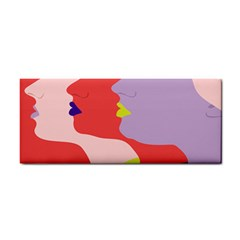 Three Beautiful Face Cosmetic Storage Cases
