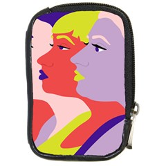 Three Beautiful Face Compact Camera Cases