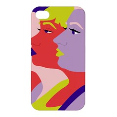 Three Beautiful Face Apple iPhone 4/4S Hardshell Case