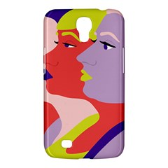 Three Beautiful Face Samsung Galaxy Mega 6.3  I9200 Hardshell Case