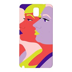 Three Beautiful Face Samsung Galaxy Note 3 N9005 Hardshell Back Case