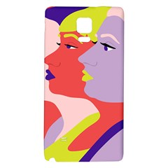Three Beautiful Face Galaxy Note 4 Back Case