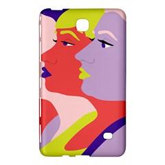 Three Beautiful Face Samsung Galaxy Tab 4 (7 ) Hardshell Case