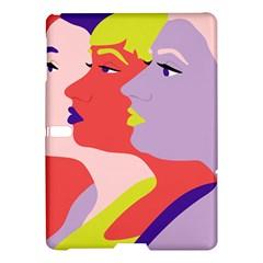 Three Beautiful Face Samsung Galaxy Tab S (10.5 ) Hardshell Case
