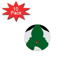 Two Face 1  Mini Buttons (10 pack)
