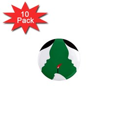 Two Face 1  Mini Magnet (10 pack)