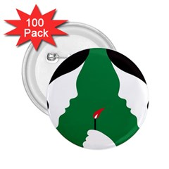 Two Face 2.25  Buttons (100 pack)