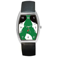 Two Face Barrel Style Metal Watch