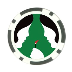 Two Face Poker Chip Card Guards (10 pack)