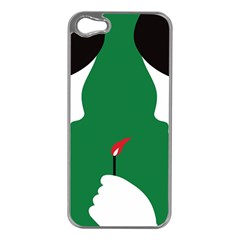 Two Face Apple iPhone 5 Case (Silver)