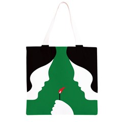 Two Face Grocery Light Tote Bag