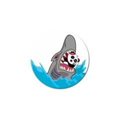 Panda Sharke Blue Sea Golf Ball Marker (10 pack)