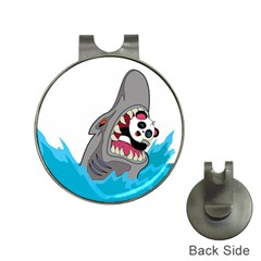Panda Sharke Blue Sea Hat Clips with Golf Markers
