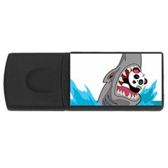 Panda Sharke Blue Sea USB Flash Drive Rectangular (4 GB)