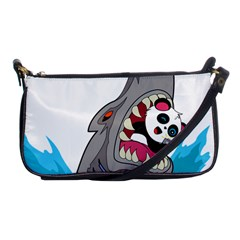 Panda Sharke Blue Sea Shoulder Clutch Bags