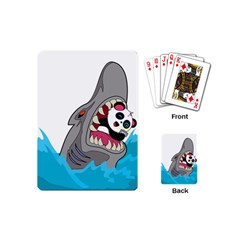 Panda Sharke Blue Sea Playing Cards (Mini)