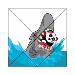 Panda Sharke Blue Sea Acrylic Tangram Puzzle (6  x 6 )