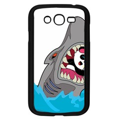 Panda Sharke Blue Sea Samsung Galaxy Grand DUOS I9082 Case (Black)