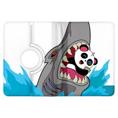 Panda Sharke Blue Sea Kindle Fire HDX Flip 360 Case