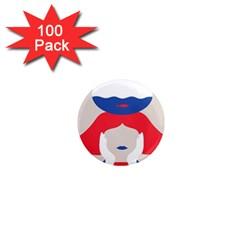 Woman 1  Mini Magnets (100 pack)