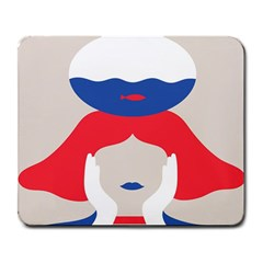 Woman Large Mousepads