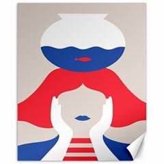 Woman Canvas 16  x 20