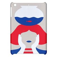 Woman Apple iPad Mini Hardshell Case