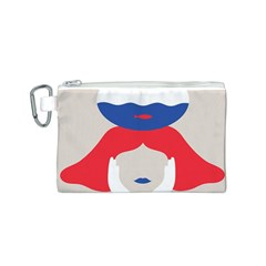 Woman Canvas Cosmetic Bag (S)