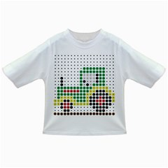 Tractor Perler Bead Infant/Toddler T-Shirts