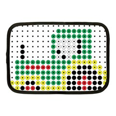 Tractor Perler Bead Netbook Case (Medium)