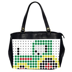 Tractor Perler Bead Office Handbags (2 Sides)