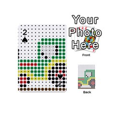 Tractor Perler Bead Playing Cards 54 (Mini)