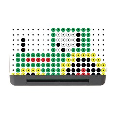 Tractor Perler Bead Memory Card Reader with CF