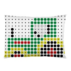 Tractor Perler Bead Pillow Case (Two Sides)