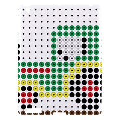 Tractor Perler Bead Apple iPad 3/4 Hardshell Case