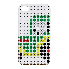 Tractor Perler Bead Apple iPhone 4/4S Premium Hardshell Case