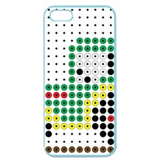 Tractor Perler Bead Apple Seamless iPhone 5 Case (Color)