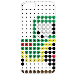 Tractor Perler Bead Apple iPhone 5 Classic Hardshell Case
