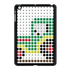 Tractor Perler Bead Apple iPad Mini Case (Black)