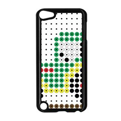 Tractor Perler Bead Apple iPod Touch 5 Case (Black)