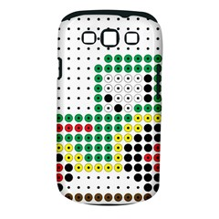 Tractor Perler Bead Samsung Galaxy S III Classic Hardshell Case (PC+Silicone)