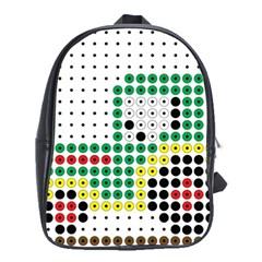 Tractor Perler Bead School Bags (XL)